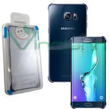 Custodia CLEAR COVER BLU originale Samsung per Galaxy S6 Edge Plus Edge+ G928F