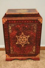 Uncharted 3 Nathan Drake Travelling Chest Box NEW from Collector's Edition PS3