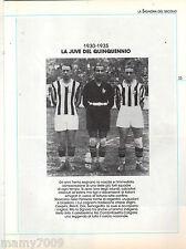 JUVENTUS LA SIGNORA DEL SECOLO=90 ANNI DI STORIA=FASCICOLO N°2 1930-1944