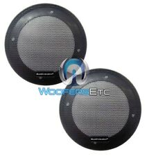 """2 AUDIOBAHN NEW 5 1/4"""" GRILLS COMPONENT SPEAKER PROTECTIVE COVERS 5.25"""" PAIR"""