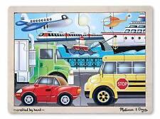 Melissa & Doug Wooden On the Go Jigsaw Puzzle (New) 2931