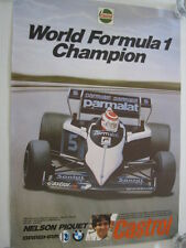World Formula1 Champion 1983 Parmalat Brabham BMW BT52 #5 Nelson Piquet (BRA)