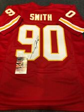 KANSAS CITY CHIEFS NEIL SMITH AUTOGRAPHED SIGNED JERSEY JSA COA