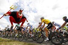 """""""The Devil"""" Didi Senft Tour De France Celebration Poster Maillot Jaune"""