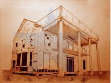 Majestic Pride, dilapidated old southern house