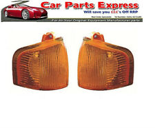 FORD ESCORT MK4 RS TURBO XR3i 1986 - 1990 NEW AMBER FRONT INDICATOR LAMP SET
