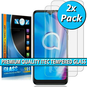 For Alcatel 1S (2021) / 3L (2021) Tempered Glass Screen Protector Film Cover