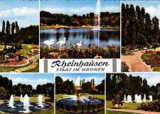 Rheinhausen , Ansichtskarte,  gelaufen