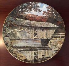 Royal Doulton 'Lovejoy Bridge' Collectors Plate 1978
