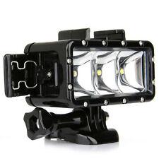 Underwater Diving Light Waterproof LED Video Light for GoPro Hero 4/3