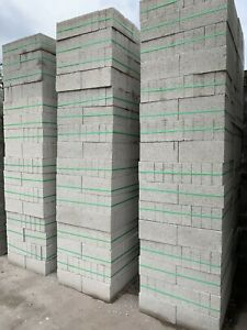 100m Concrete Blocks 72 Blocks Per Pack @ £65