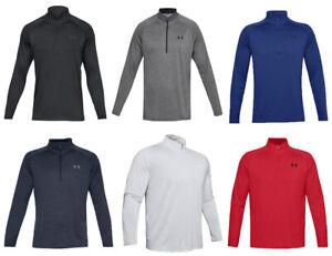Under Armour Mens Tracksuit Tops Tech 2.0 Half Zip Top Training gym Golf Shirt