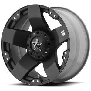 "XD Series XD775 Rockstar 18x9 8x6.5"" +0mm Matte Black Wheel Rim 18"" Inch"