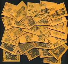 More details for 1971-76 qeii decimal 10p stitched booklets dn46-75