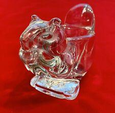 Vintage Avon Squirrel Glass Votive Candle Holder Collector 1970's Euc