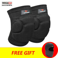 1 Pair Cycling Knee pads MTB Bike Sports Knee Protective Gear EVA Bicycle Guards