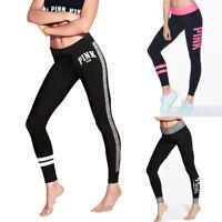 Women High Waist Yoga Pants Fitness Leggings Running Gym Stretch Sports Trousers