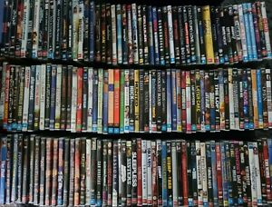 Range Of DVD's Available Used Movies & TV Series Seasons Alphabetical Order