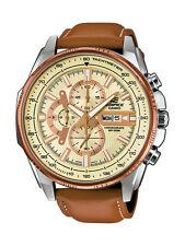 Casio Edifice reloj efr-549l -7 avuef analógico marrón