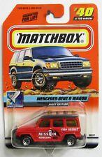 Matchbox ~ Space Explorer #40 ~ Mercedes-Benz G Wagon