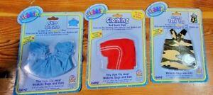 Ganz Webkinz Clothing Lot 3 Red Sport Pants Camo Tank Top Cute Blouse NEW Lot B