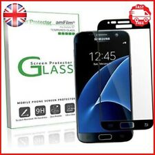 Samsung Galaxy S7 Tempered Glass AmFilm Bye-Bubble Screen Protector Design New