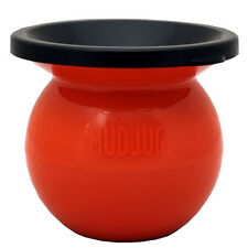 (1) The Mud Jug - Spittoon Cuspidor for Discrete Smokeless Chew Disposal-Orange