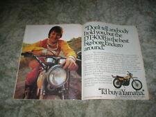 1975 Yamaha Enduro DT400B Enduro Big Bore Cycle ad  George Elliot