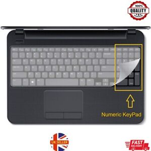 Universal Laptop Keyboard Protective Skin Silicone Protector Cover 37cm (Large)