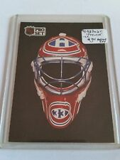 1991-92 Pro Set CC French #CC2 The Mask : Montreal Canadiens
