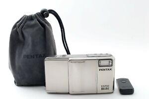 Pentax Espio Mini 75years model  Silver Point & Shoot Film Camera [Exc+] #166A