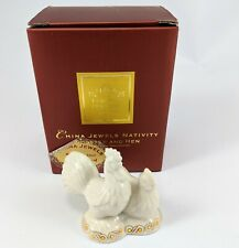 New ListingLenox China Jewels Collection Rooster and Hen Christmas Nativity