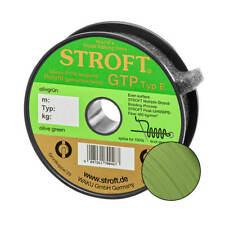 Stroft Schnur GTP Typ E geflochten olivgrün 300m Angelschnur Angelsehne Leine