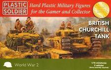 Plastic Soldier Company 1/72 British Churchill Tank x 2 WW2V20017 - WW2