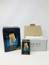 *Euc* Vintage Fontanini Depose Italy Lemuel Nativity Figure w/ Book Collectable
