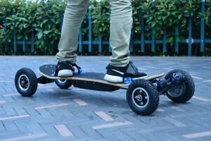 Stunning Electric Skateboard Double Motor Power 2x1350W Electric Longboard 2020