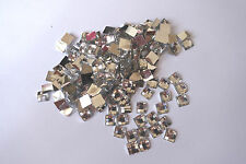 500pcs Clear Resin Crystal Flat back 6 x 6mm Square Diamante Rhinestone GEMS