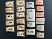 "Lot of 22 vintage Pharmacy labels. 3"" x 2"" pharmaceutical, Ephemera"