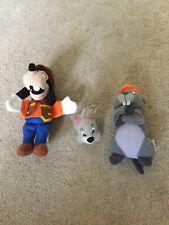 Disney McDonalds Happy Meal Fast Food Beanie Toys - soft toys x 3 2000/2001