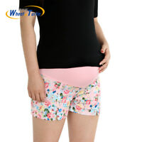 New Summer Flower Shorts For Maternity Ultra Thin Hot Pants For Pregnant Women