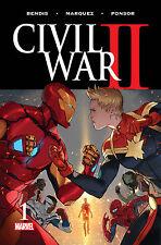 Civil War II #1 NM 1st Print Marvel Bendis Coipel 2016 Includes Code