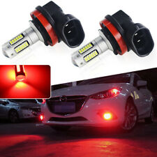 2pcs High Power 7.5W 30-SMD Red H11 H8 LED Projector Bulbs For DRL Fog Lights