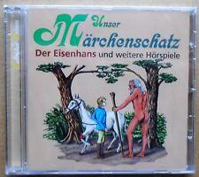 Unser Märchenschatz - Grimm - Der Eisenhans, Hans, mein Igel u.a. - CD neu & OVP