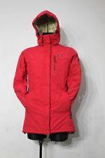 DIDRIKSONS Street Chaqueta Parka Con Capucha Aislante para Mujer Esquí Nieve Rojo Tamaño 36