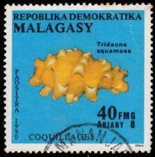 """MADAGASCAR 993 - Fluted Giant Clam """"Tridacna squamosa"""" (pf25214)"""