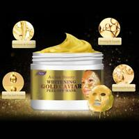 24k Gold Mask Collagen Peel Off Anti Wrinkle Facial Face Whitening Aging Lifting