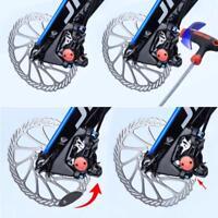 Neu MTB Fahrrad Scheibenbremsbeläge Montageassistent Rotor Alignment Tool Gift~^