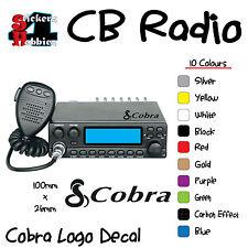 Amateur Radio Ham Citizens Band CB Sticker Decal Cobra