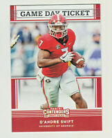 2020 Panini Contenders Draft GAME DAY TICKET #11 D'ANDRE SWIFT RC Rookie Lions