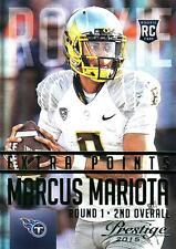 2015 Prestige Extra Points Green #264 Marcus Mariota Titans SP